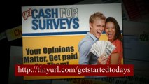 Get Cash For Surveys - Can you really make money with Get Cash For Surveys