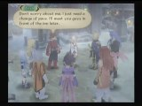 Tales of Symphonia 2 (Wii) Runthrough ENGLISH Presea Flanoir scene with Lloyd