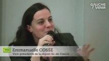 Intervention d'Emmanuelle Cosse - Assemblée des gauches et des écologistes du 12 décembre
