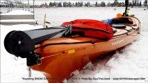 Kayaking Winter Winds - SNOW DAY Skaha Lake Jan6th2013