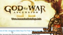 God of War: Ascension Beta Keys Free Giveaway For PS3
