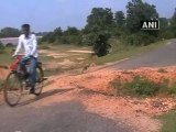 Destructions of road, bridge by Naxals leave locals in the lurch.mp4