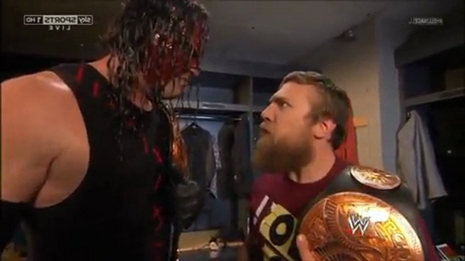 Team Hell No (Kane and Daniel Bryan) @ Hell in a Cell (Aftermath)