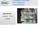 Location Appartement  Chantilly  60500 - 51 m2