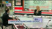 Christophe Blanchard-Dignac et Christian Saint-Etienne - 4 janvier - BFM : Le Grand Journal 2/4