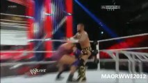 WWE Raw ; Ryback Vs. CM Punk - WWE Championship TLC Match