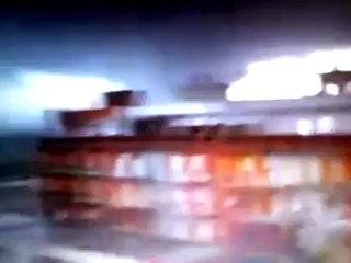 Tromba d'aria Taranto - Tromba d'aria Ilva di Taranto - Tornado Taranto Italy - Tromba Taranto