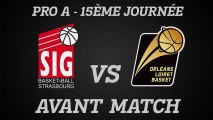 Avant-Match - J15 - Déplacement à Strasbourg