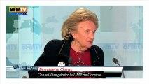"""Bernadette Chirac """"suppose"""" qu'il y a des emplois fictifs au PS"""