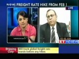 SCI hikes freight rate on India-Europe route wef Feb 1