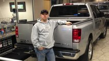 Long McArthur Ford Very Satisfied Customer Kelly Schneweis Buys A 2008 Nissan Titan-Manhattan KS!!