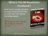 My Online Business Empire MOBE IM Revolution Review, What is IM Revolution, IM Revolution, Matt Lloyd