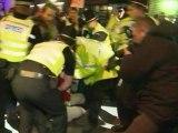DSK : manifestations à Cambridge