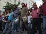 40 000 manifestants dans les rues d'Athènes