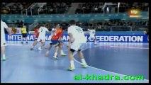 ESPAGNE 27-14 ALGERIE (CM HAND  2013,les espagnols etaient plus forts physiquement.