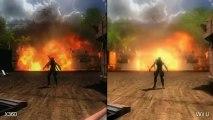 Ninja Gaiden 3 Wii U vs Xbox 360 Comparison Video