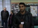 Roms : Des salles de classes improvisées (Ris-Orangis)