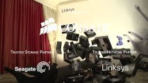 Linksys New AC Router Products - EPIC Surprise at the End - Linus Tech Tips CES 2013
