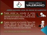 Estudio Juridico Valeriano - Pension de Alimentos - Abogados - Abogado Peruano