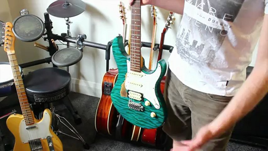 My Guitars – Andy from Nail Guitar shows you his guitars 2012