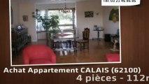 A vendre - appartement - CALAIS (62100) - 4 pièces - 112m²