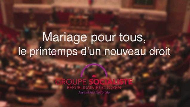 Mariage pour tous - le printemps d'un nouveau droit
