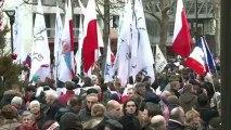 Manifestation Civitas contre le mariage pour tous à Paris