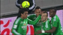 But Yohan MOLLO (62ème) - AS Saint-Etienne - Toulouse FC (2-2) - saison 2012/2013