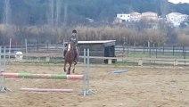 Marie au Centre Equestre de Vergèze