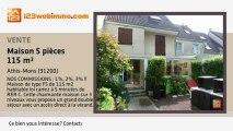 A vendre - maison - Athis-Mons (91200) - 5 pièces - 115m²