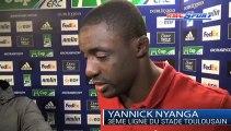 H-Cup / les réactions de G. Novès et Y. Nyanga après Toulouse - Trévise