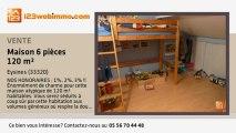 A vendre - maison - Eysines (33320) - 6 pièces - 120m²
