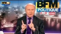 BFM Politique : l'interview BFM Business de Michel Sapin par Hedwige Chevrillon