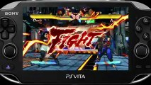 Street Fighter X Tekken - Gameplay #22 - Un peu de Street Fighter – PS Vita (GC 2012)