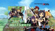 Etrian Odyssey 4 : Legends of the Titan - Bande-annonce #4 - Annonce japonaise