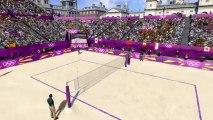 Londres 2012 - Le Jeu Vidéo Officiel Des Jeux Olympiques - Bande-annonce #6 - Le terrain de beach volley
