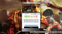 Devil May Cry 5 Game Code Free Giveaway - Xbox 360 - PS3