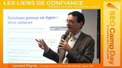 Les liens d'autorité par Laurent Peyrat au Seo Camp Day Toulouse 10/11/2012
