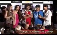 Shahid-Ayesha promote 'Paathshaala'.mp4