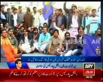PPP workers firing in different cities of Sindh after Supreme Court's order to arrest PM Raja Pervez Ashraf in rental power case