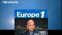 ITW - Pascal Obispo - Europe 1 Les Incontournables - Page Facebook P@radispOp