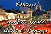 J'Ouellette TV - Know what you don't know - Verb savoir (to know) - Parisian French