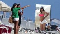 Irina Shayk Shows Off Her Bikini Body