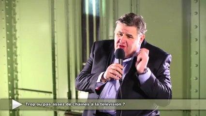 Pierre Ménès se confie sur la télévision d'aujourd'hui 1/2