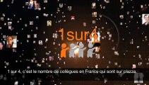 Plazza, le réseau social d'entreprise d'Orange.