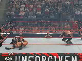 "WWE Unforgiven 2003 - Goldberg vs ""The Game"" Triple H"
