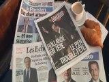 Les gros titres de la presse française au lendemain du premier tour