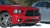 Chrysler 300 and Dodge Charger AWD Testing