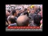 Visite de Bachar Al-Assad dans le quartier de Baba Amr à Homs