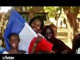 Avec les militaires français, accueillis en héros au Mali